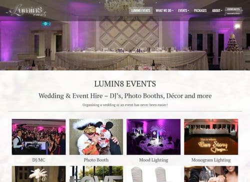 Premier Wedding Events Company Appoints Slinky