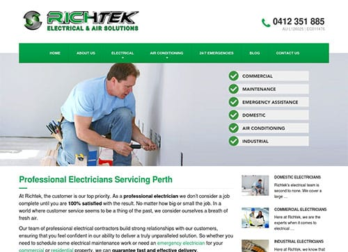 Slinky Digital Marketing Wins RichTek Electrical